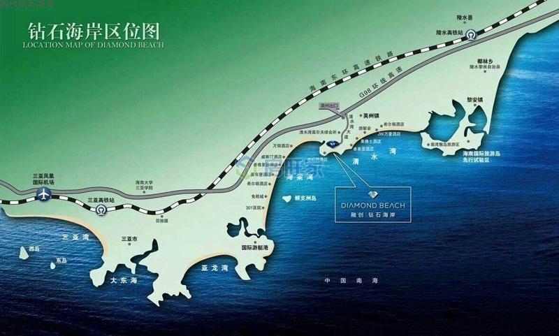 融创钻石海岸区位图