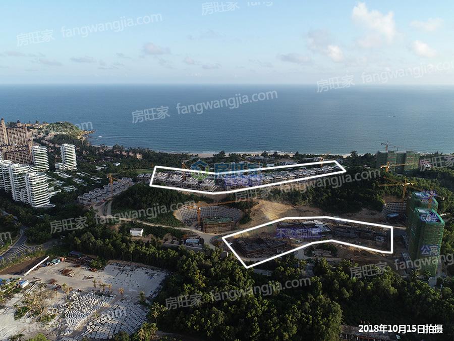 融创钻石海岸在售楼栋实景航拍