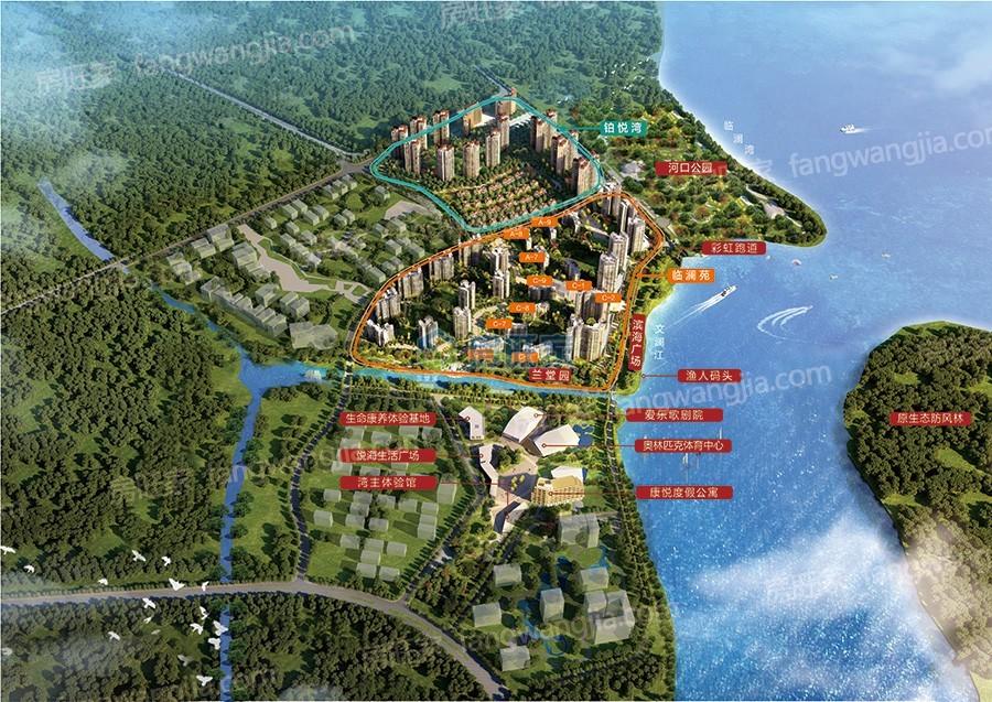 富力悦海湾项目总规划