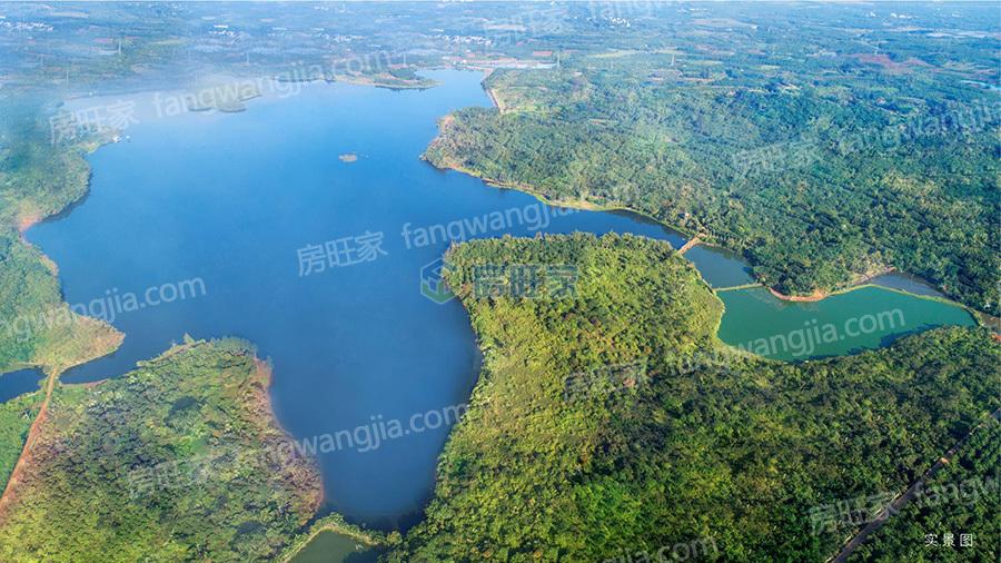 融创无忌海项目坐拥千余亩生态湖景