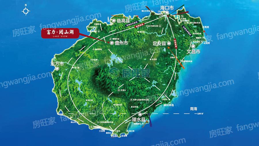儋州区位图