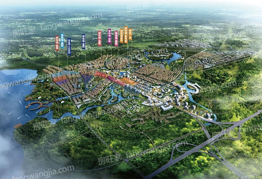 绿地城江东首府整体规划图