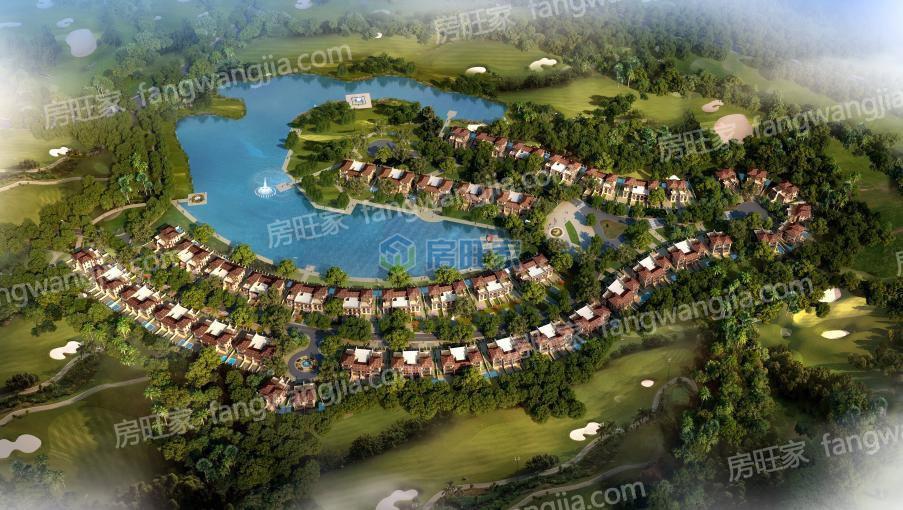 观澜湖澜墅整体平面规划图