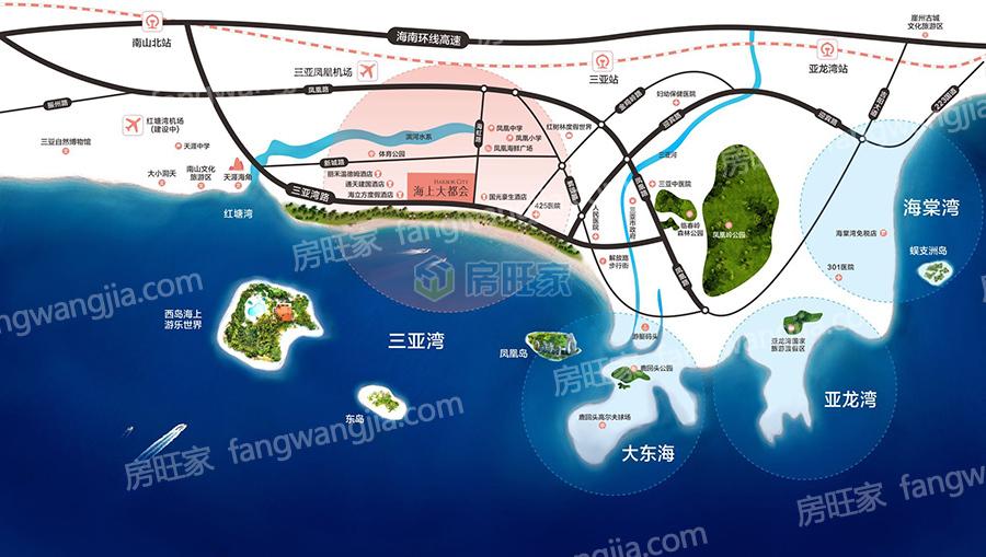 碧桂园海上大都会区位图