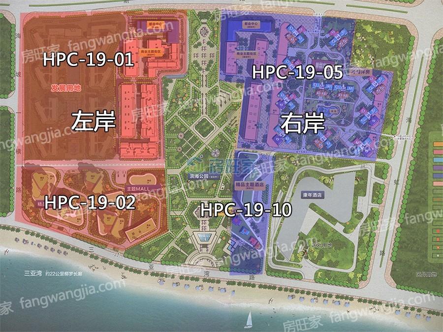 海上大都会地块分布图