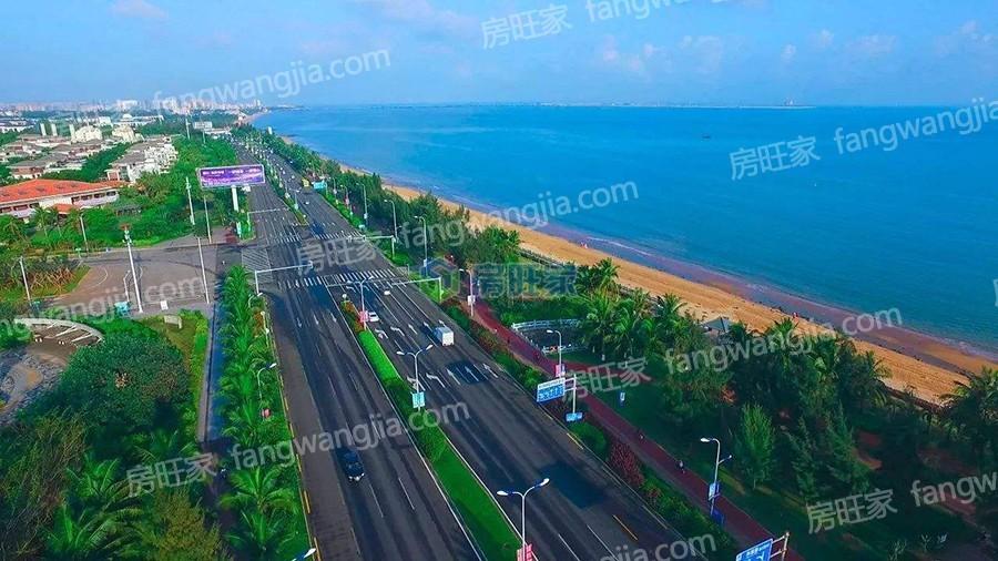 海口市西海岸实景图