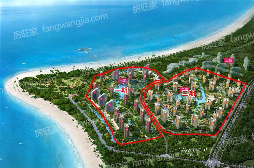 长岛蓝湾项目整体规划