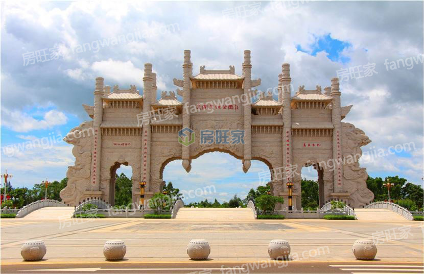 长岛蓝湾外部配套之文澜文化公园