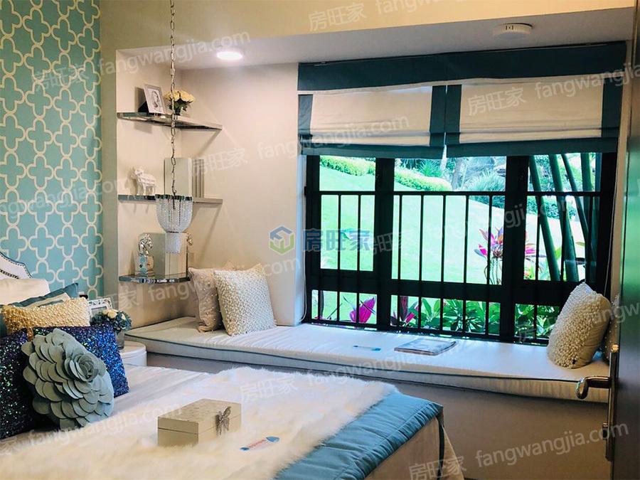 碧桂园金沙滩三期海泉湾样板间:卧室