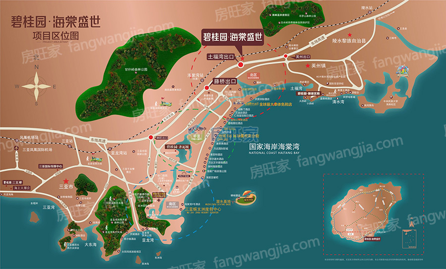 碧桂园海棠盛世区位图