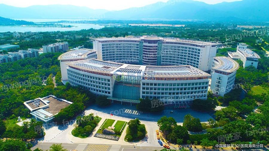 解放军301医院三亚分院实景航拍