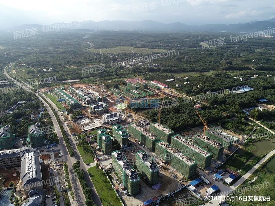 海南臻园实景航拍(2018年10月16日)