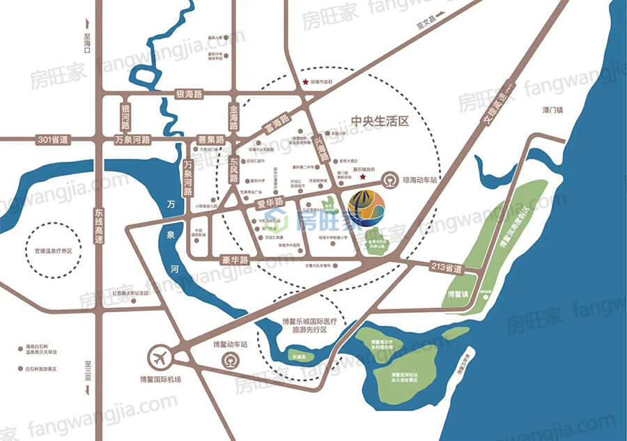 海城时代广场区位图