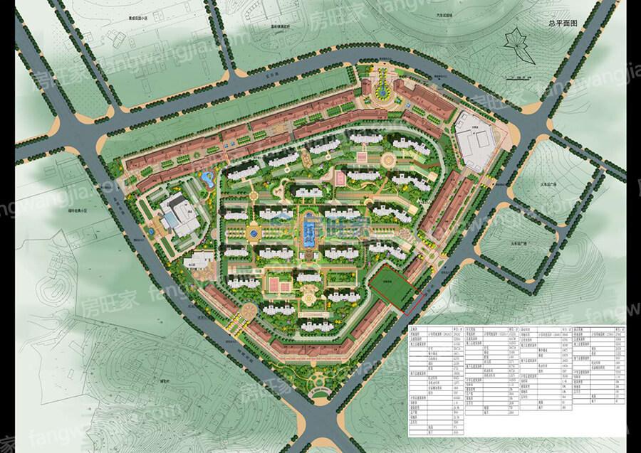 海城时代广场规划平面图