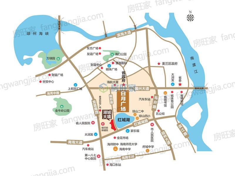 怡和湖城大境区位图
