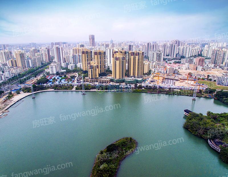 怡和湖城大境实景图