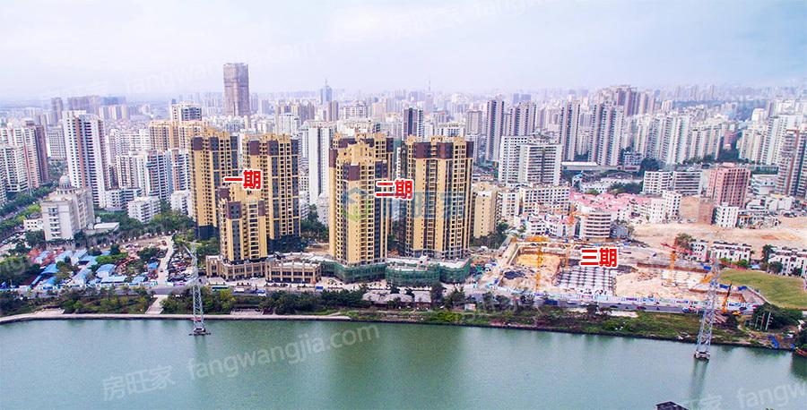 怡和湖城大境整体实景图