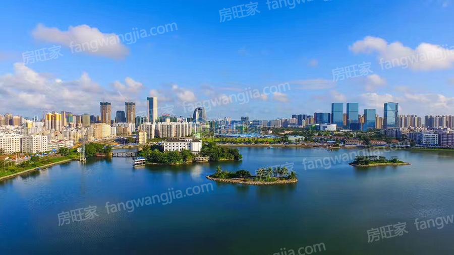 怡和湖城大境配套:红城湖实景图