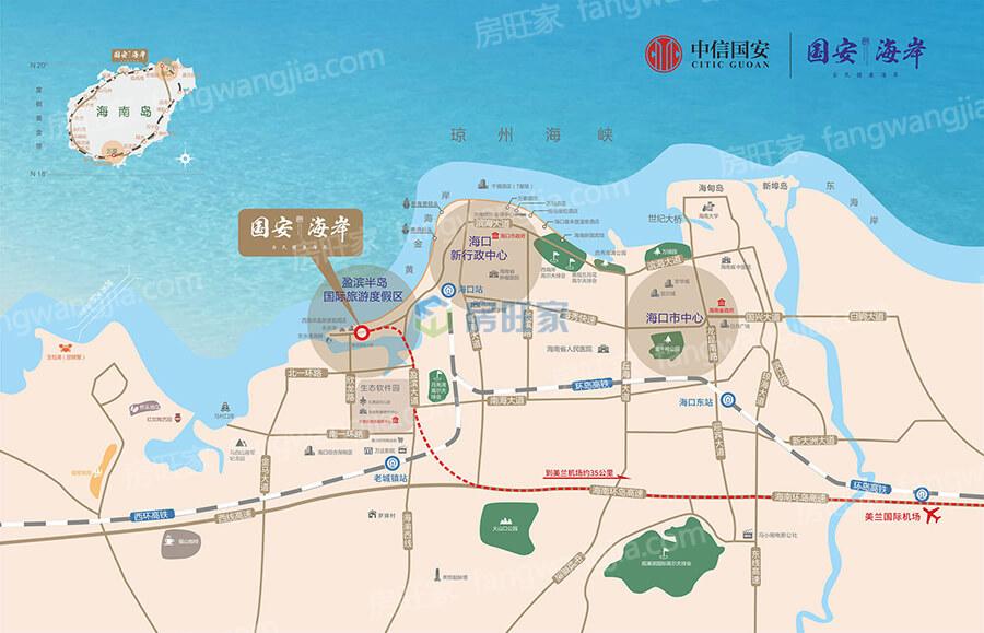 国安海岸区位图
