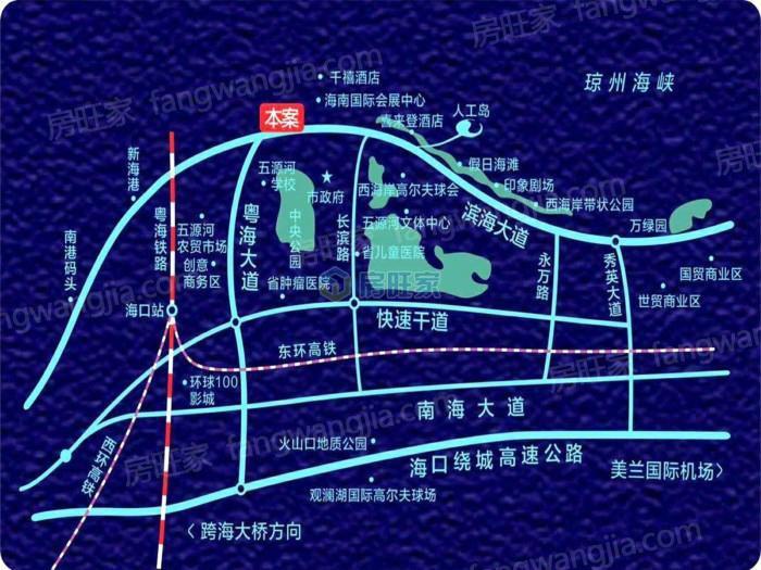 凤凰悦海交通区位图