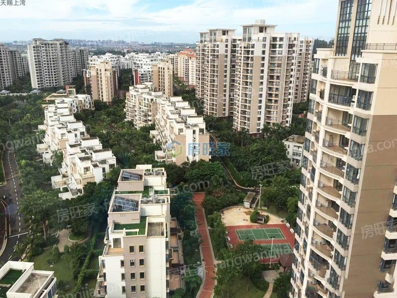 多层洋房和高层公寓组合照