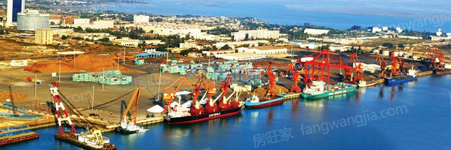 海南三大港口之一洋浦港