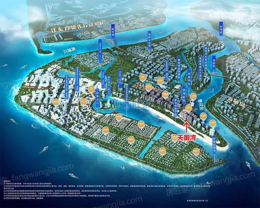 碧桂园中央半岛天御湾位置分布图