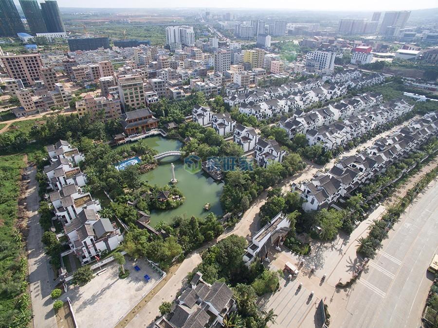 中华坊一期玫瑰园实景图
