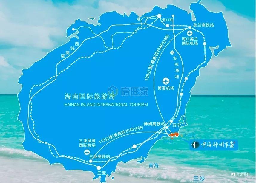 """中海神州半岛""""311""""立体交通网络"""