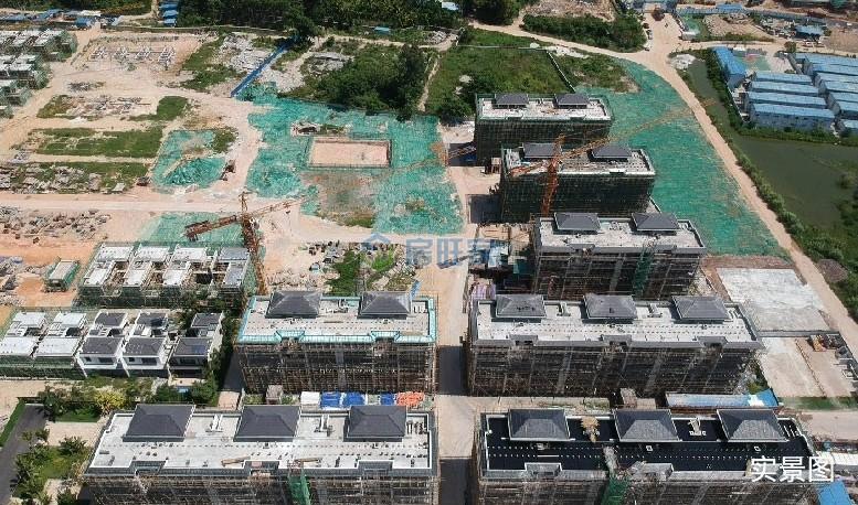 海南臻园花园洋房2019年9月工程进度