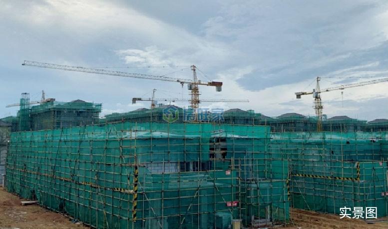 海南臻园院墅2019年9月工程进度