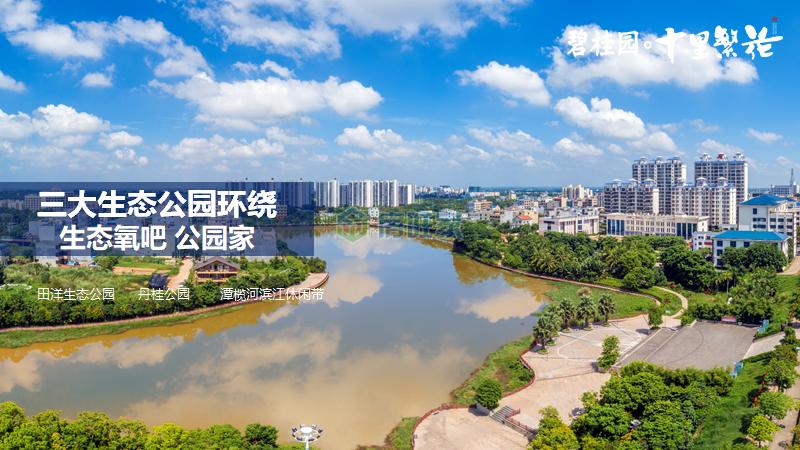 碧桂园十里繁花三大生态公园