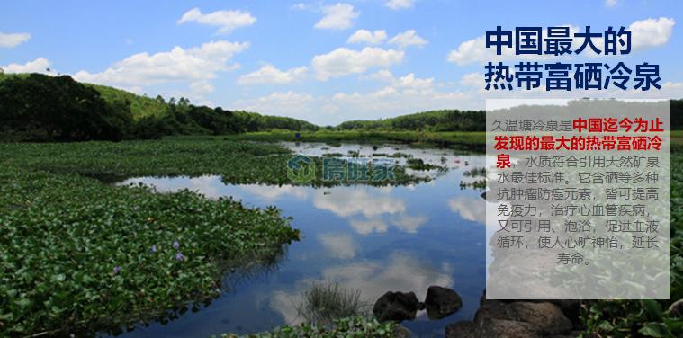 碧桂园十里繁花热带富硒冷泉