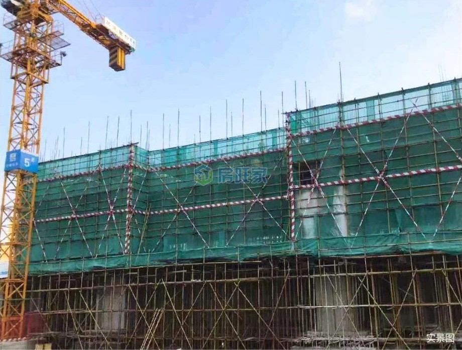 融创高隆湾一期6#7#8#9#2019年10月工程进度