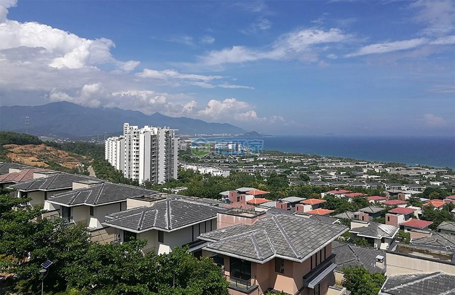 海南富力湾实景图
