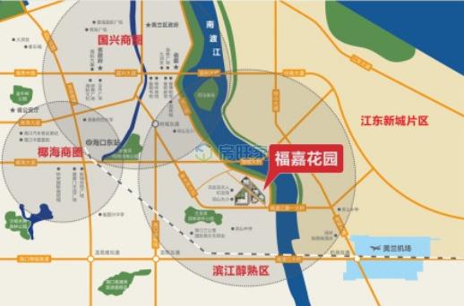 粤泰福嘉花园交通区位图
