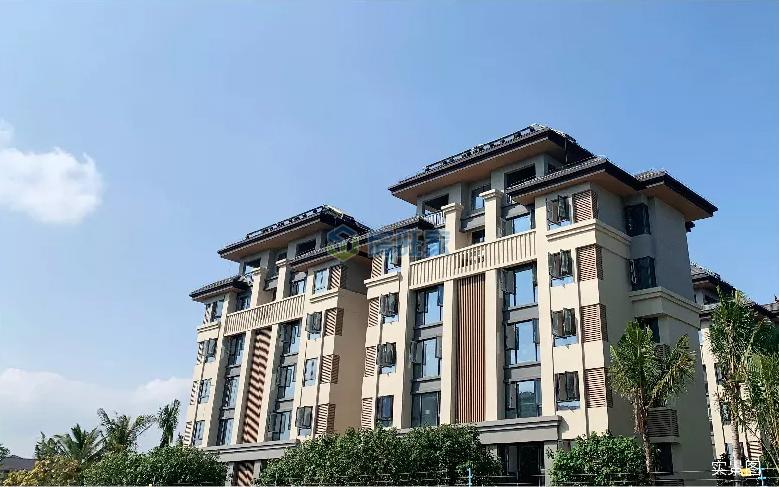 海南臻园建面77平花园洋房2019年11月工程进度