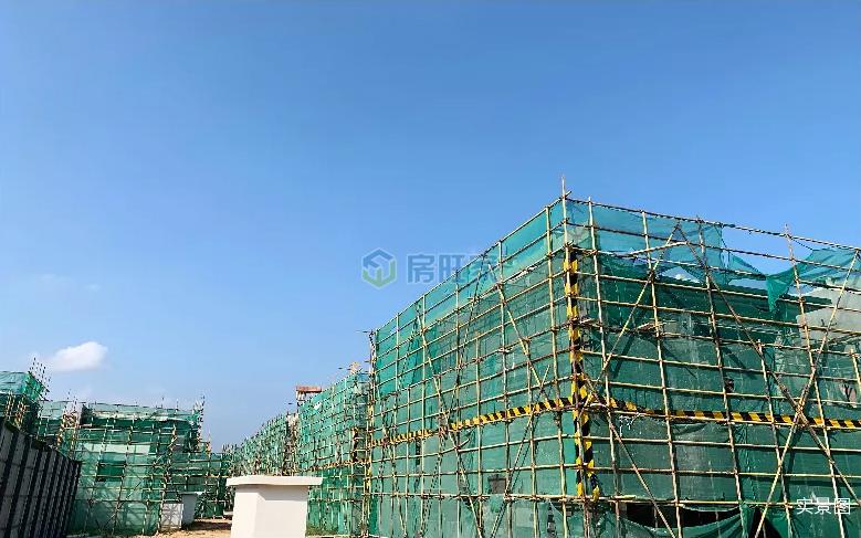 海南臻园建面110平院墅2019年11月工程进度