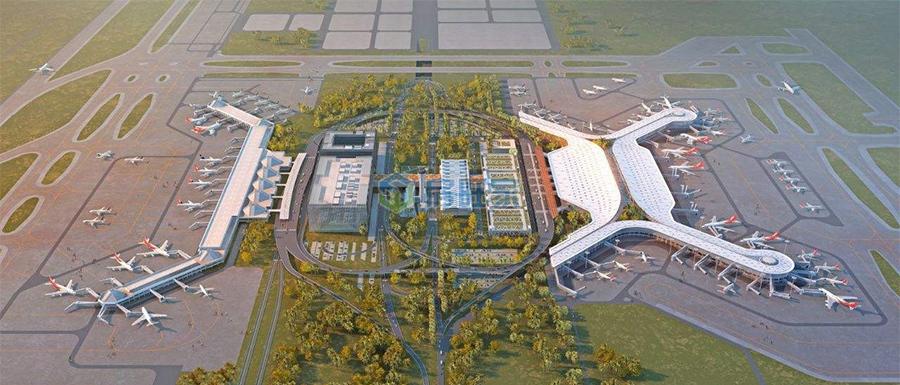 绿地空港GIC区位优越
