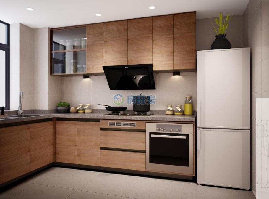 悦居山海间S2样板间:厨房