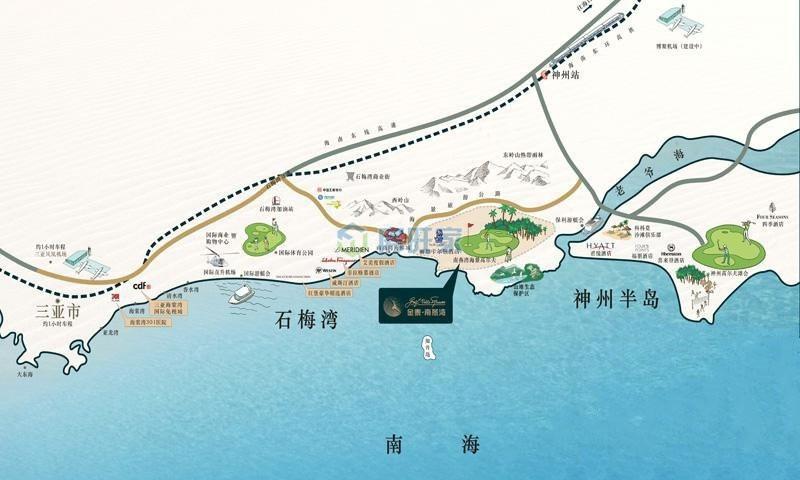 金泰南燕湾交通区位图