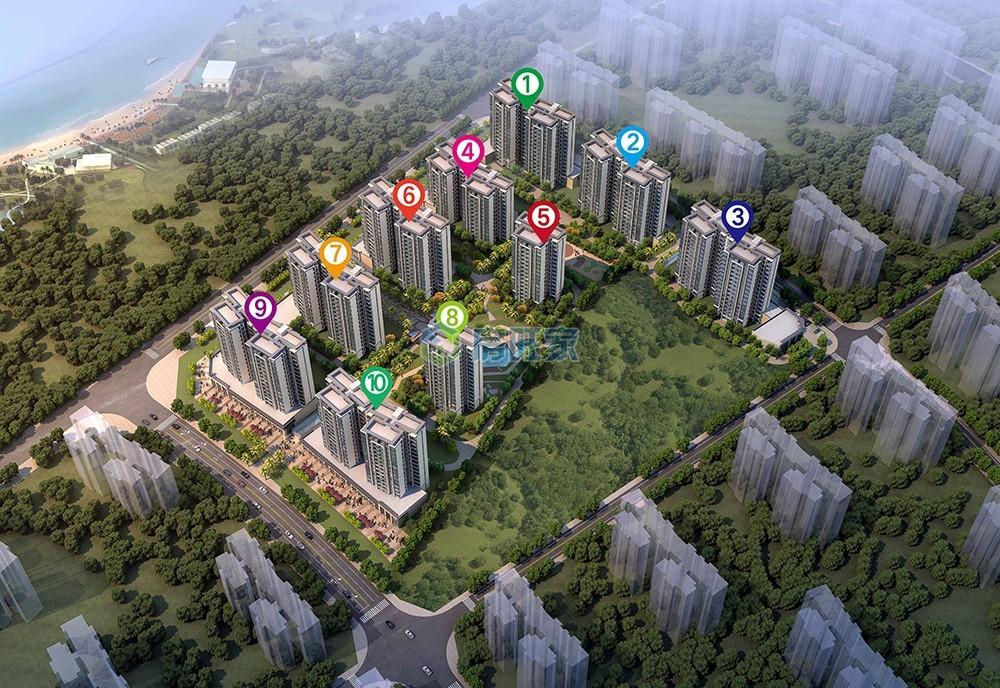 绿地城江东首府平面图