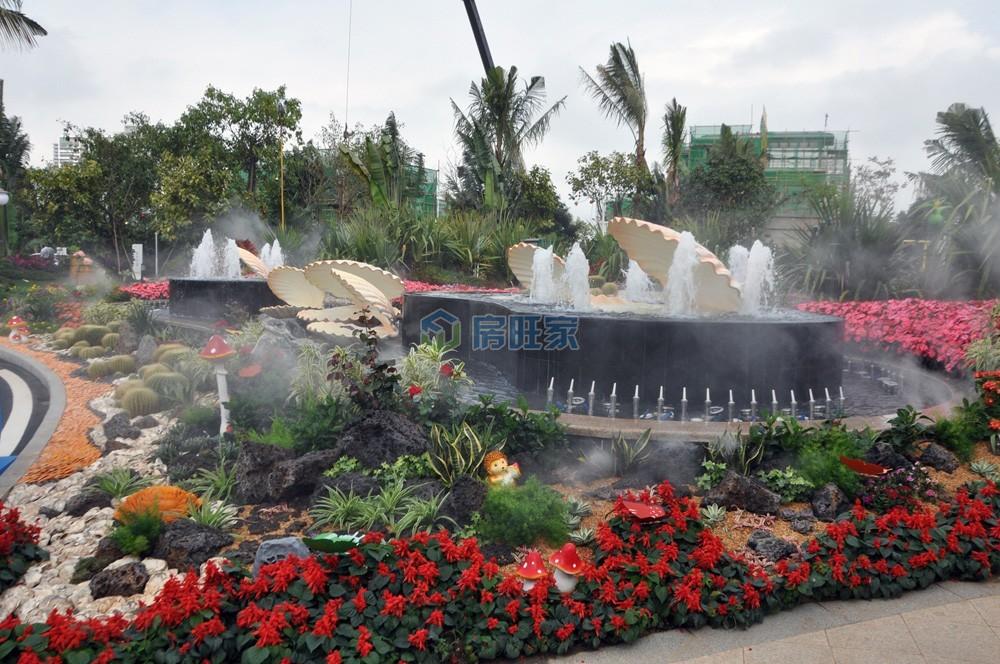 碧桂园齐瓦颂小区园林水系景观