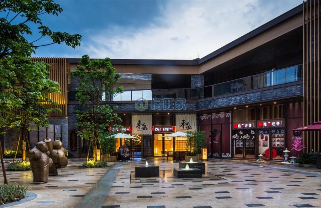 保利六千树配套之商业广场