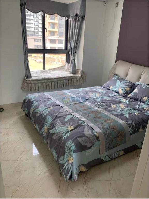 港岛花园样板间卧室效果图