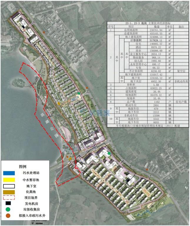 海口江东新区总体规划图